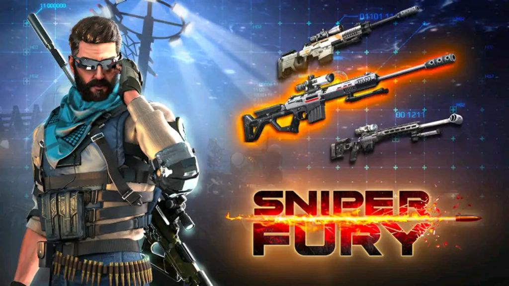 sniper fury mod apk screen1