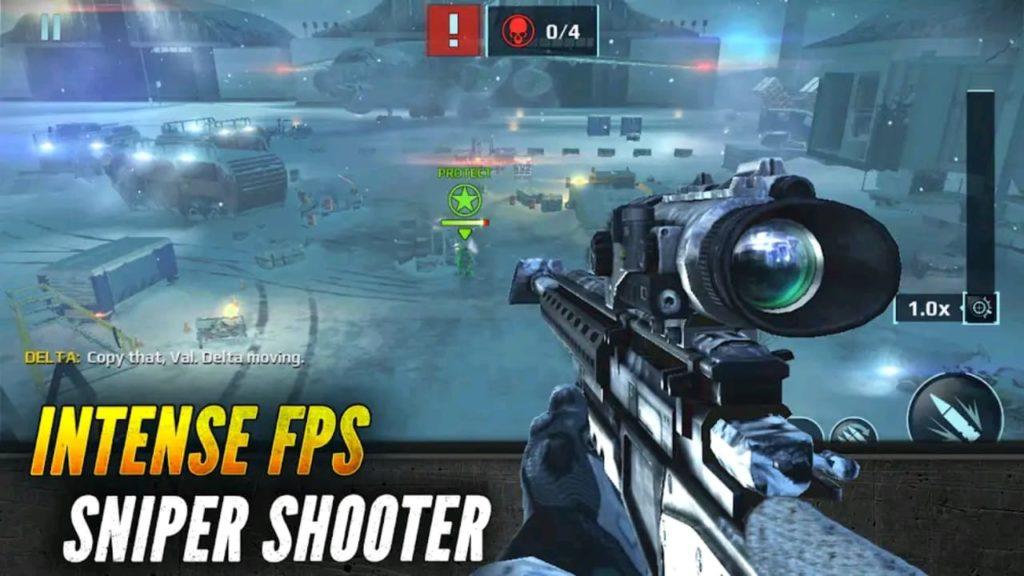 sniper fury mod apk screen2