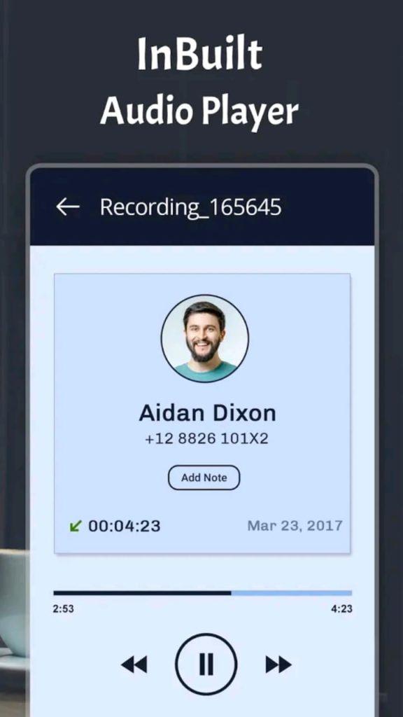 automatic call recorder pro screen5