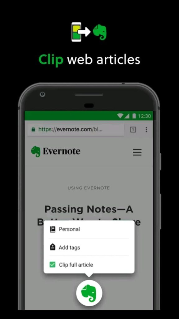 evernote premium screen5