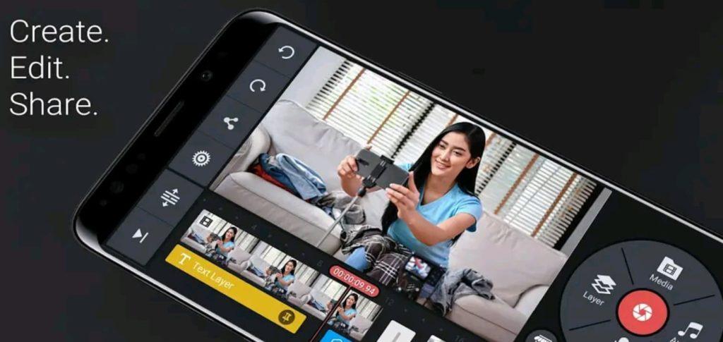 kinemaster mod apk screen1
