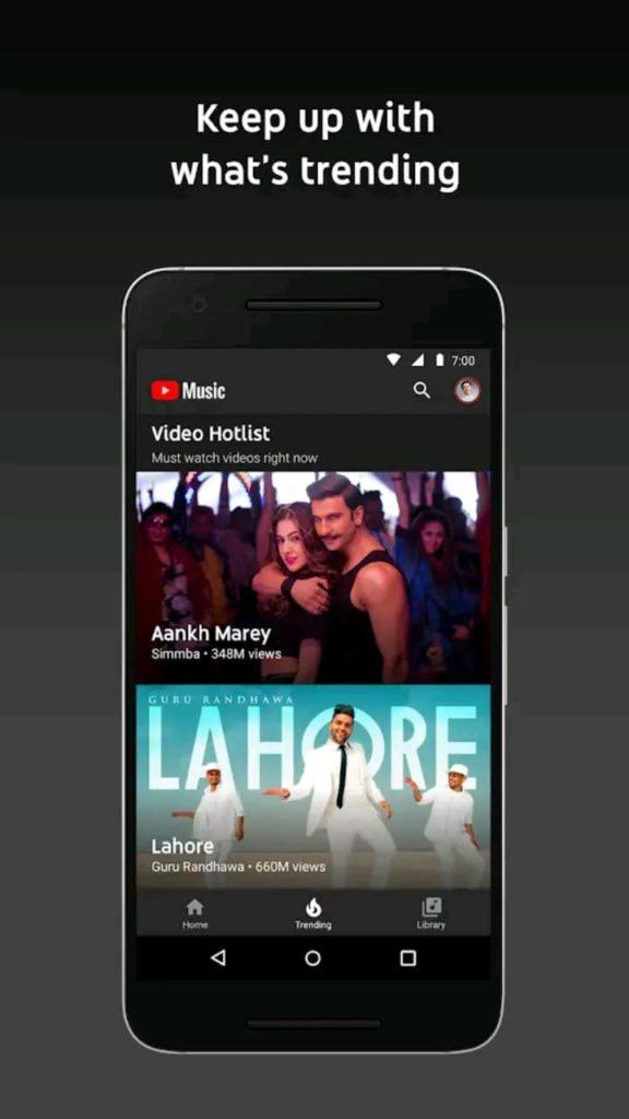 youtube music premium screen2