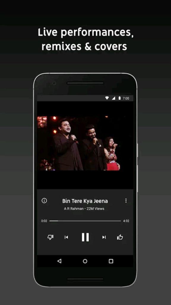 youtube music premium screen3