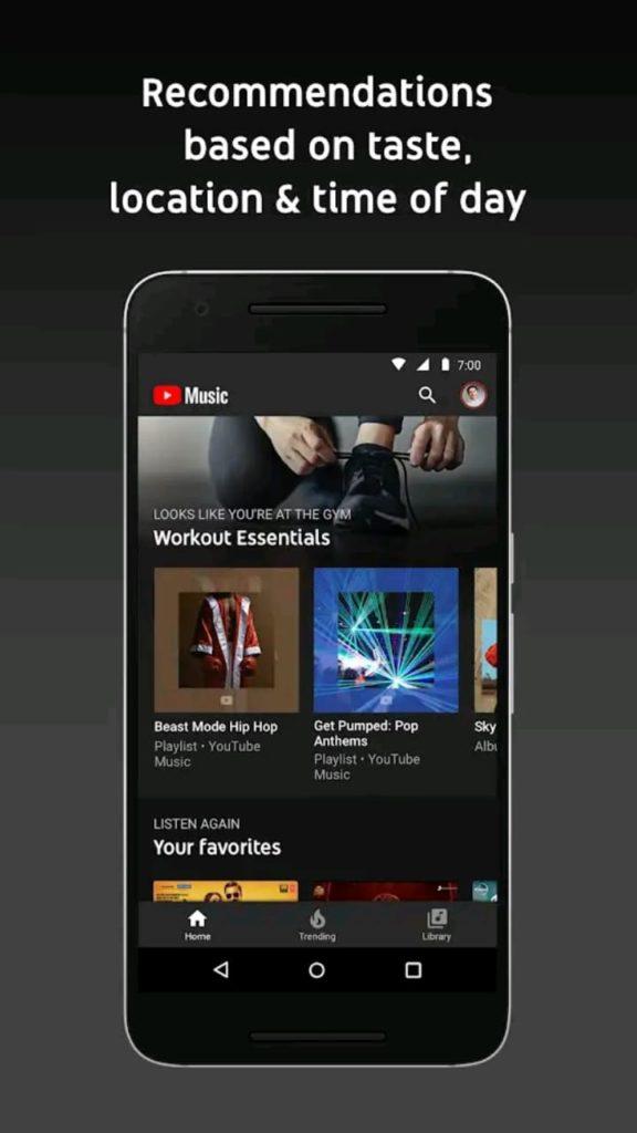 youtube music premium screen4