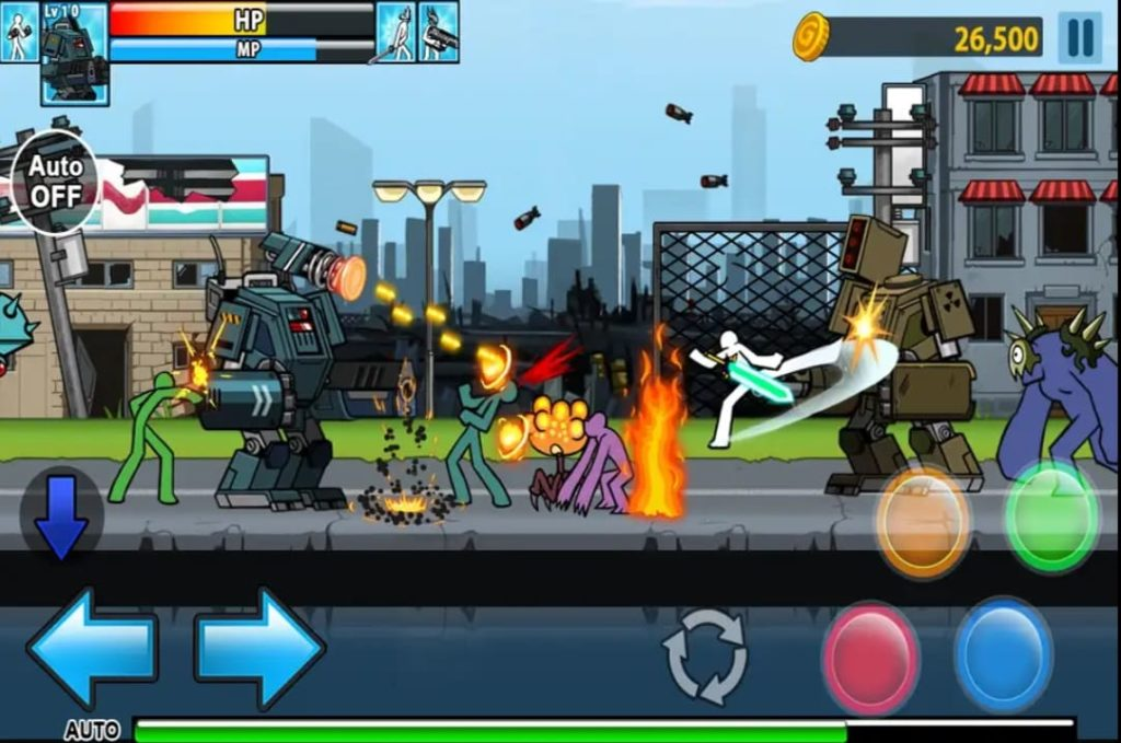 anger of stick 4 mod apk screen1