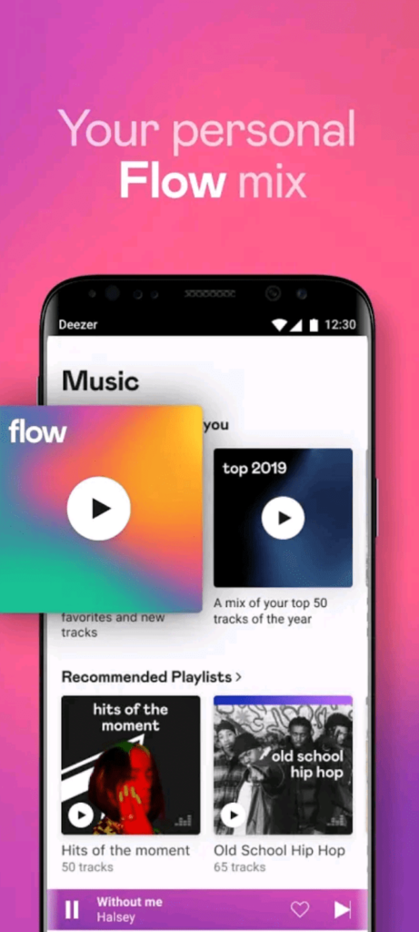 deezer premium apk screen2