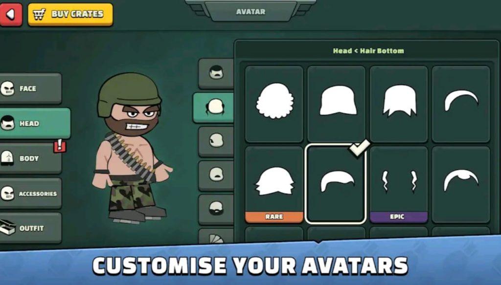 mini militia mod apk screen3