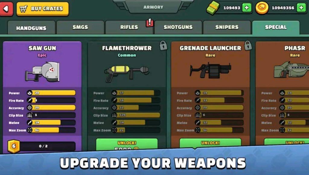 mini militia mod apk screen5