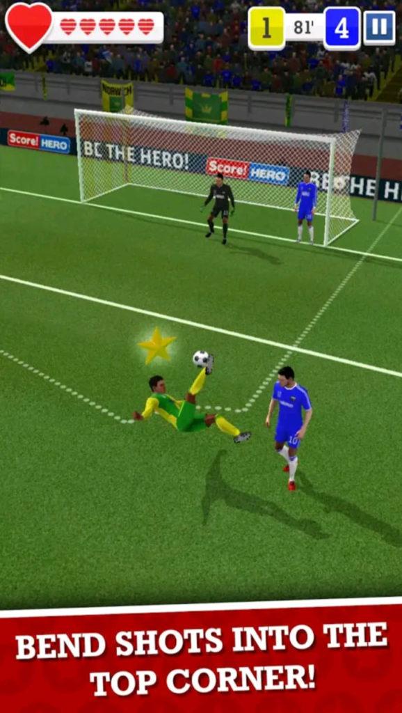 score hereos mod apk screen2