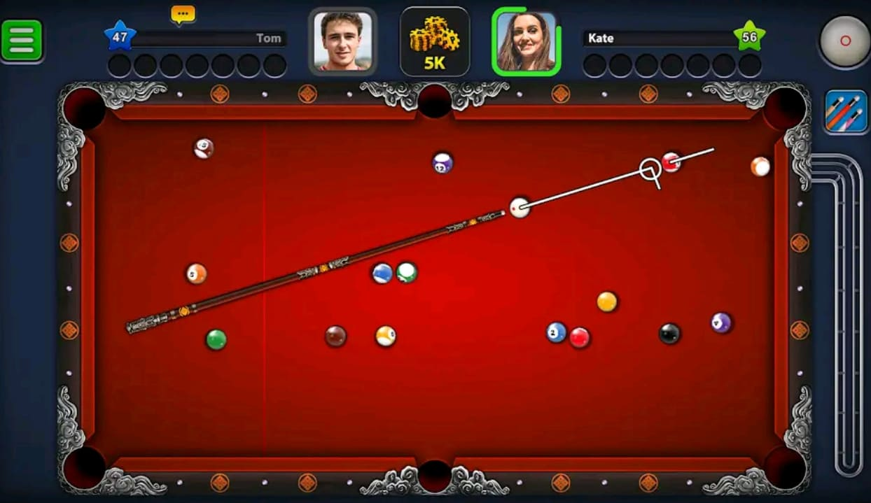 8 Ball Pool Mod Apk Screen2