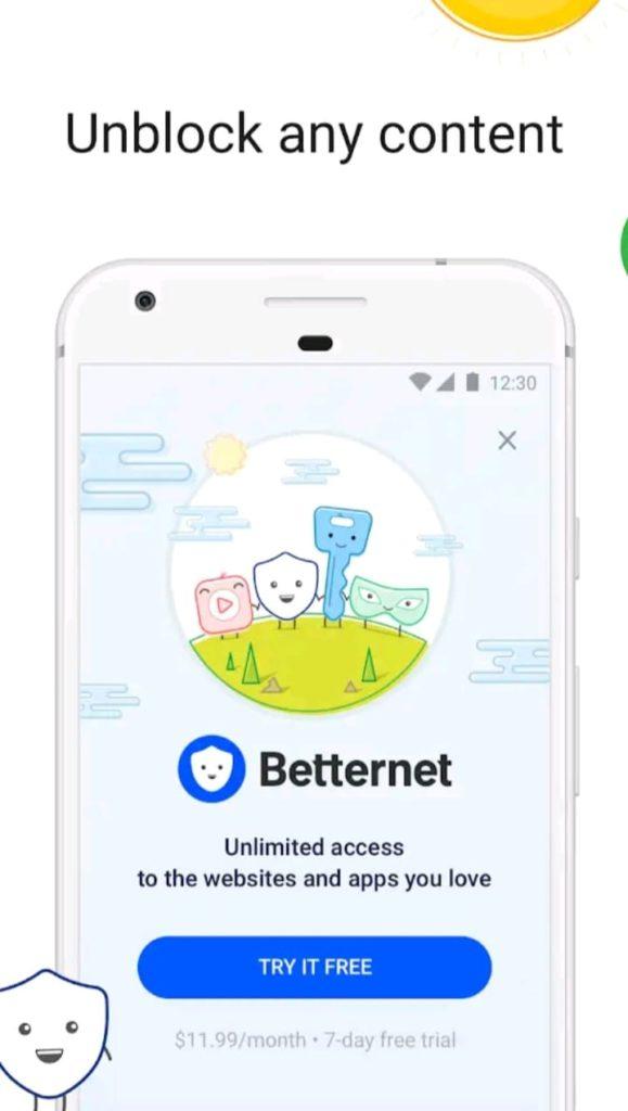 betternet premium apk screen1