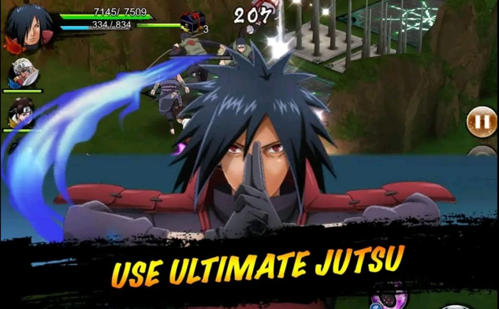 Naruto X Boruto ninja voltage mod apk screen2