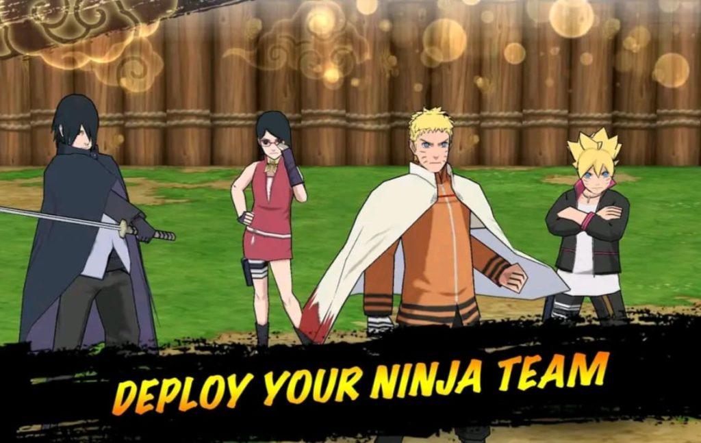 Naruto X Boruto ninja voltage mod apk screen4