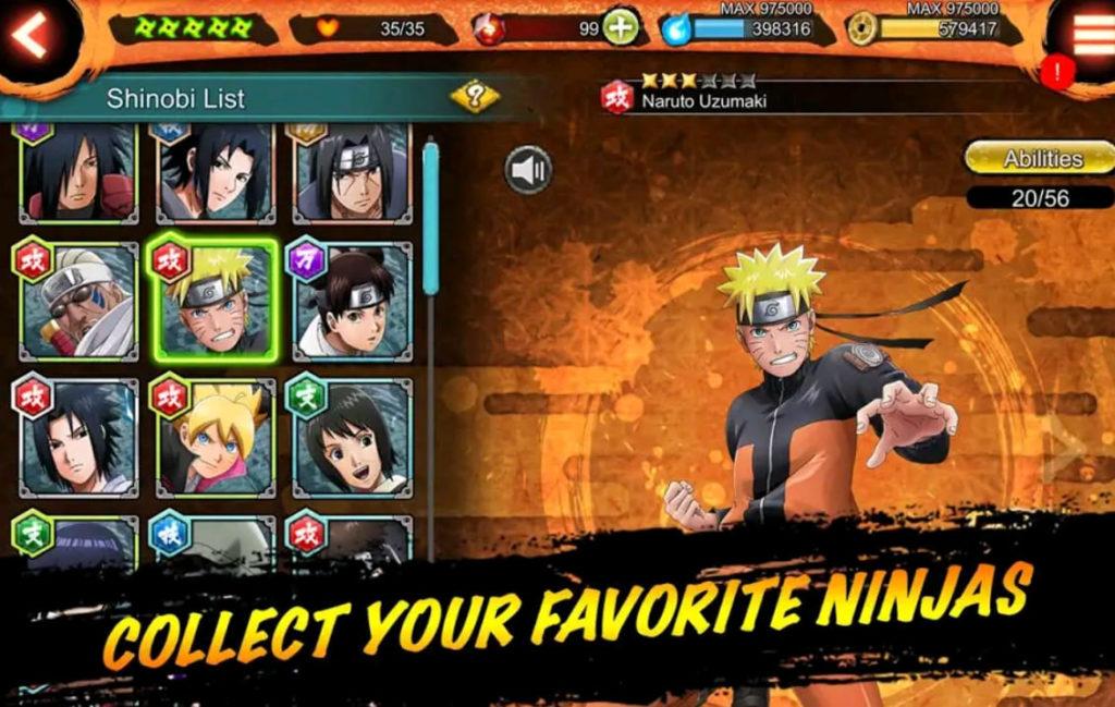Naruto X Boruto ninja voltage mod apk screen5
