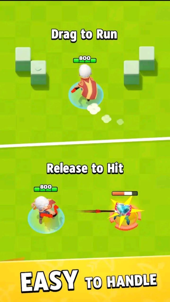archero mod apk screen1