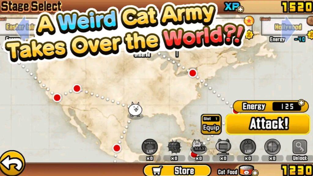 battle cats mod apk screen1