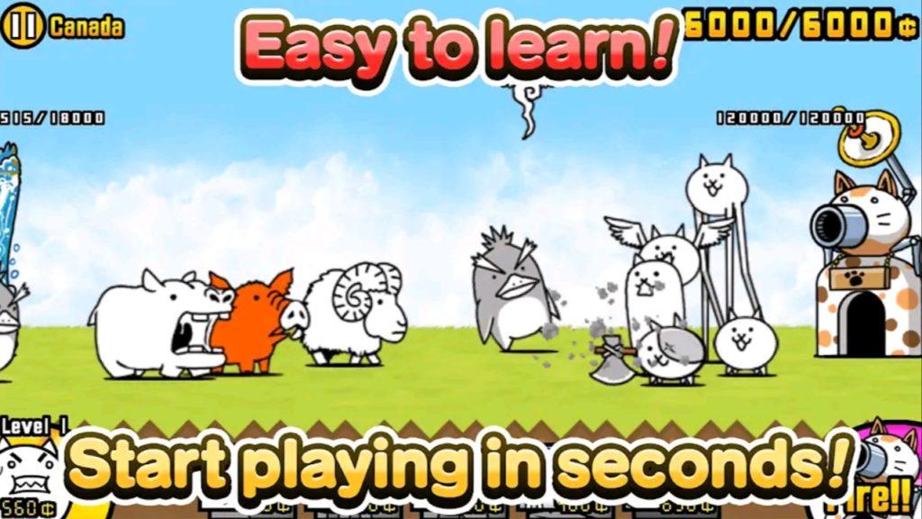 battle cats mod apk screen2