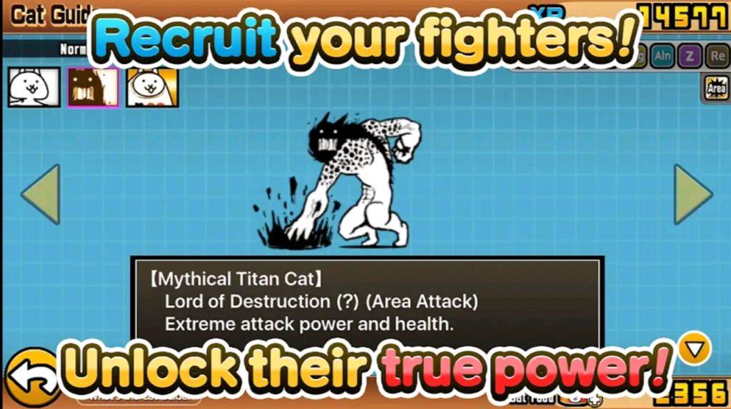 battle cats mod apk screen3