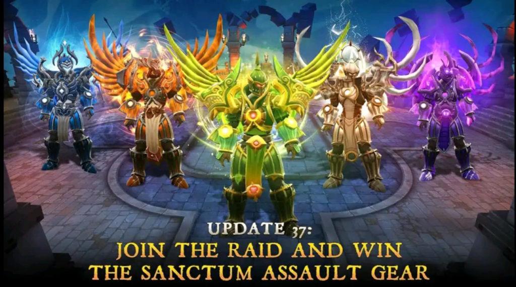 dungeon hunter 5 mod apk screen2