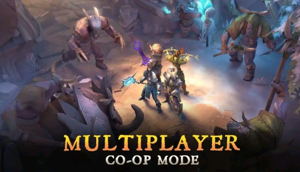 dungeon hunter 5 mod apk screen3