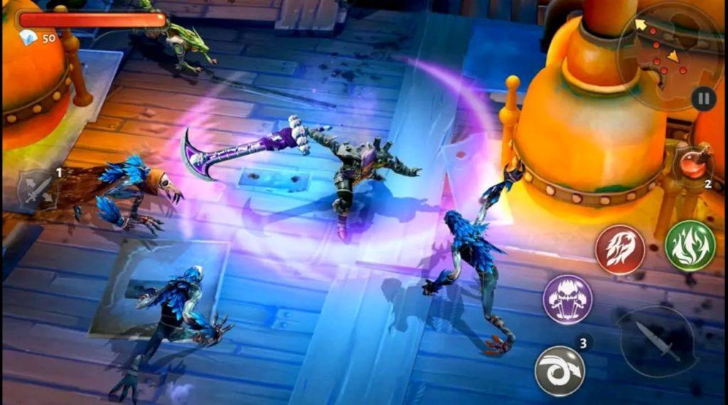 dungeon hunter 5 mod apk screen7