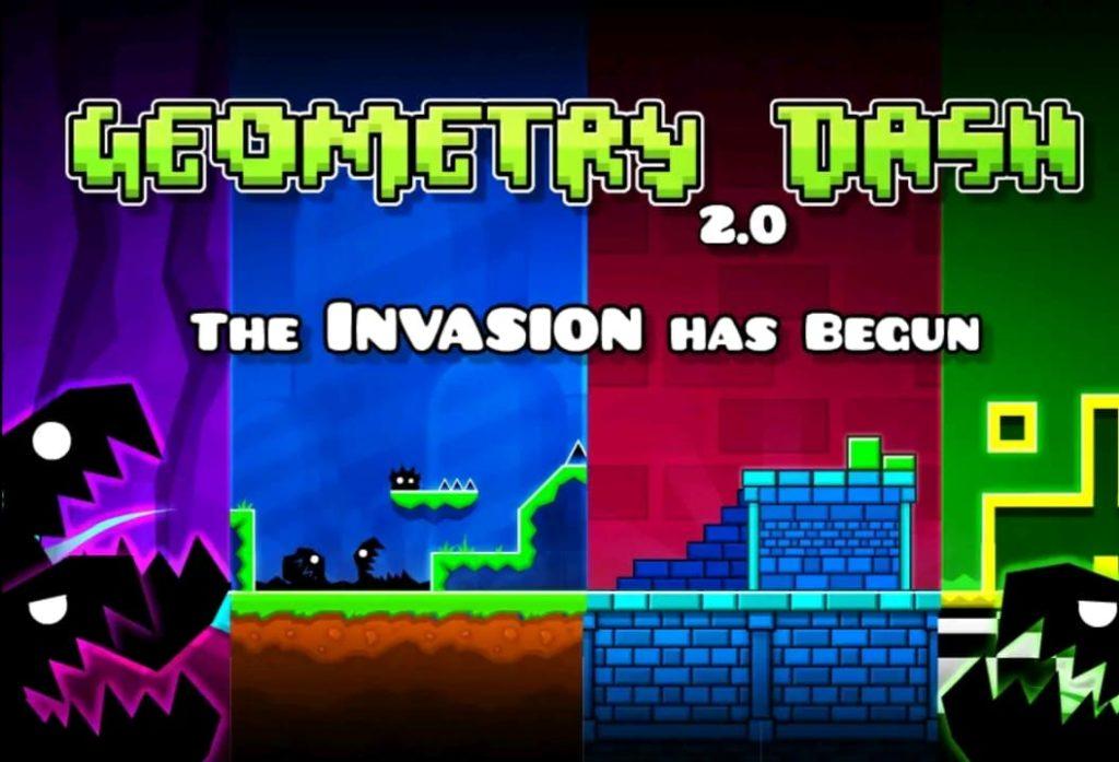 geometry dash mod apk screen1