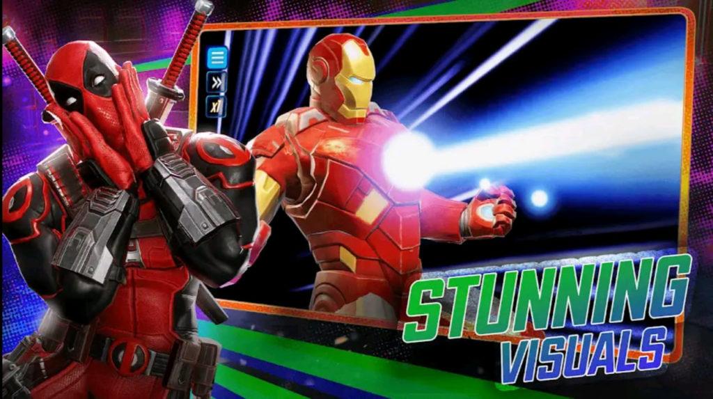 marvel strike force mod apk screen2