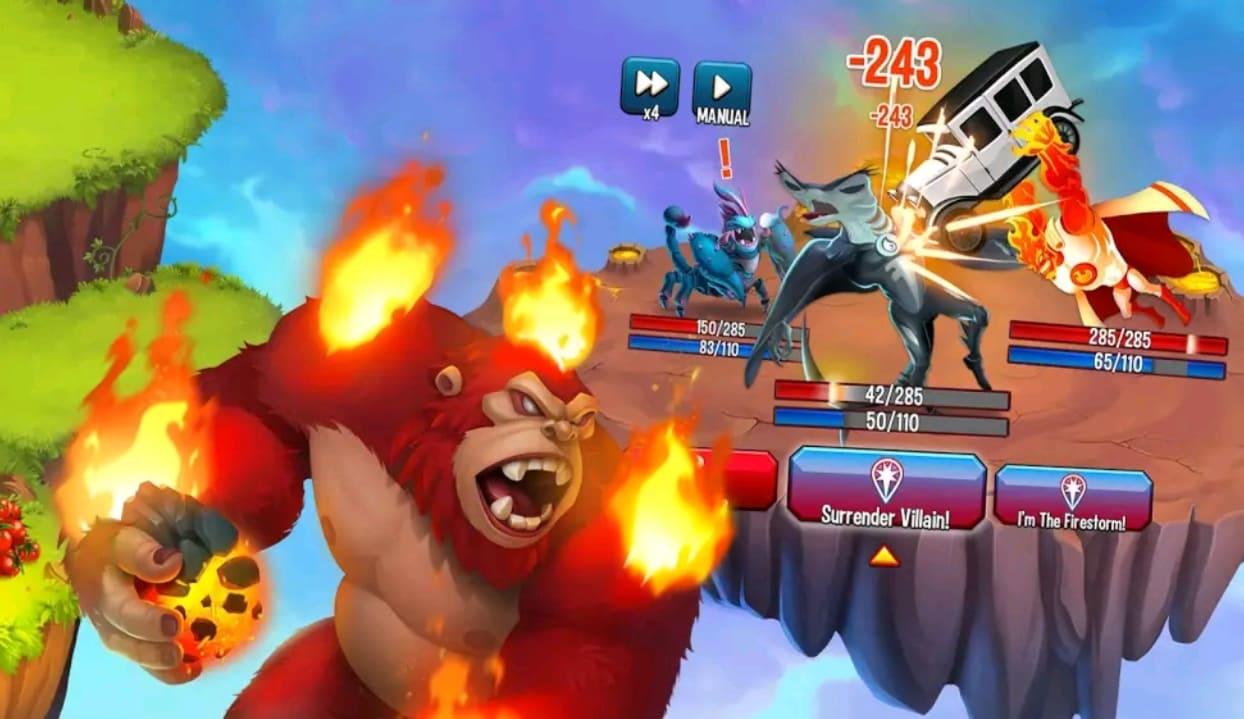 monster legends mod apk screen2
