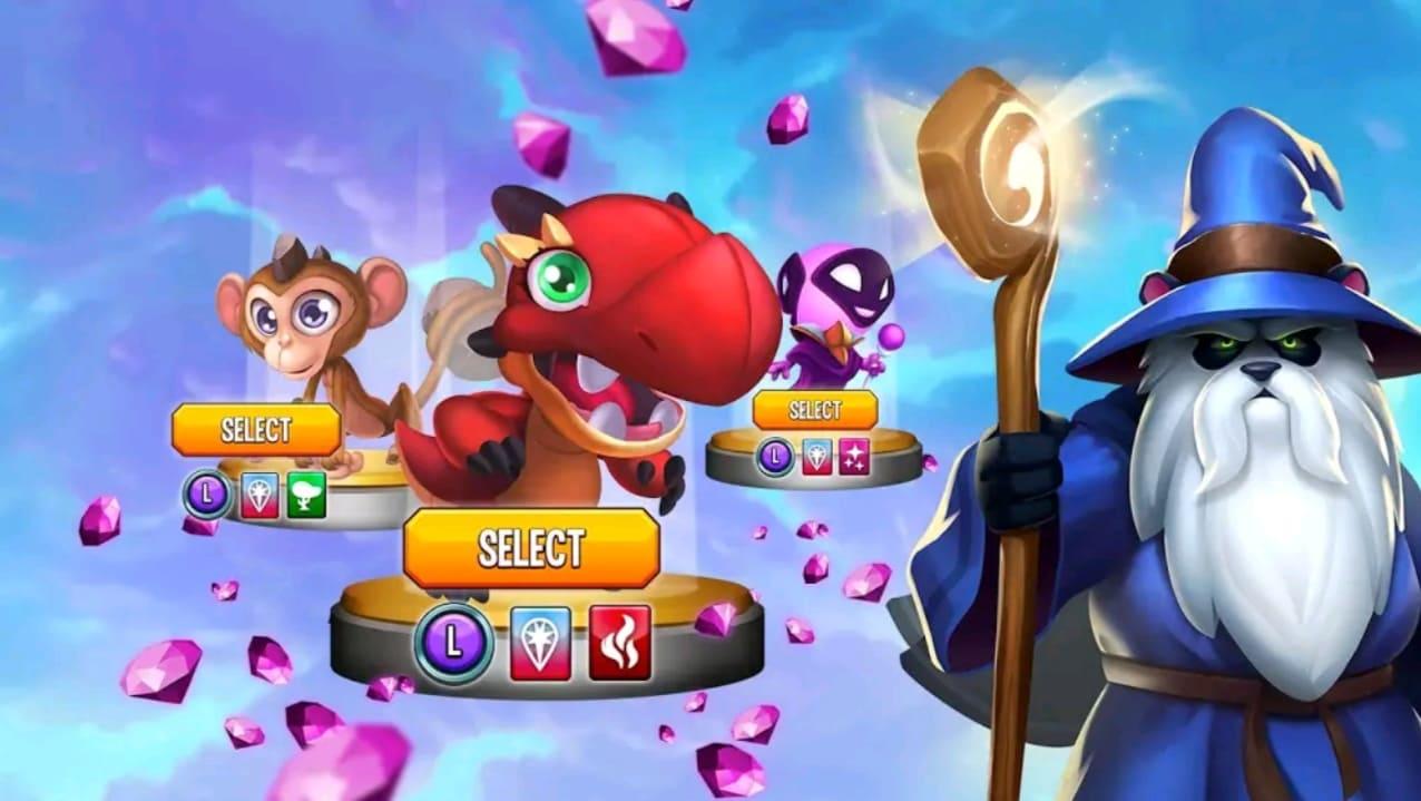 monster legends mod apk screen4