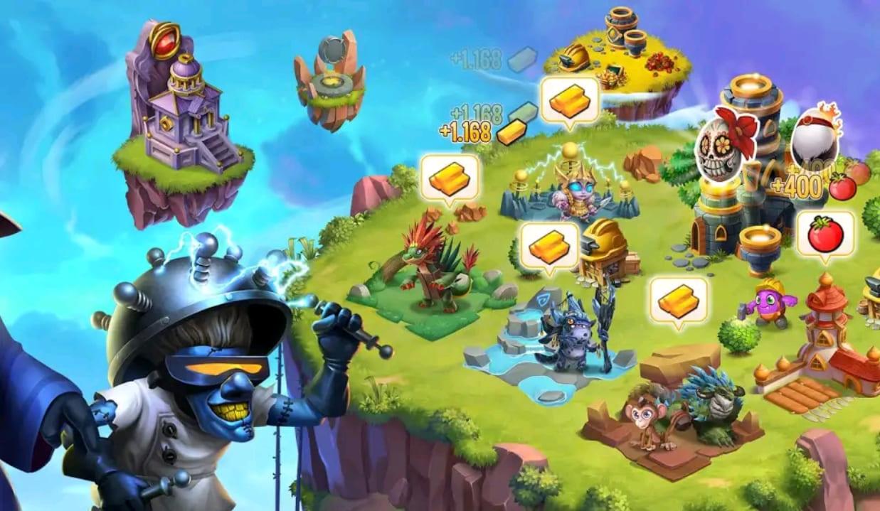 monster legends mod apk screen5