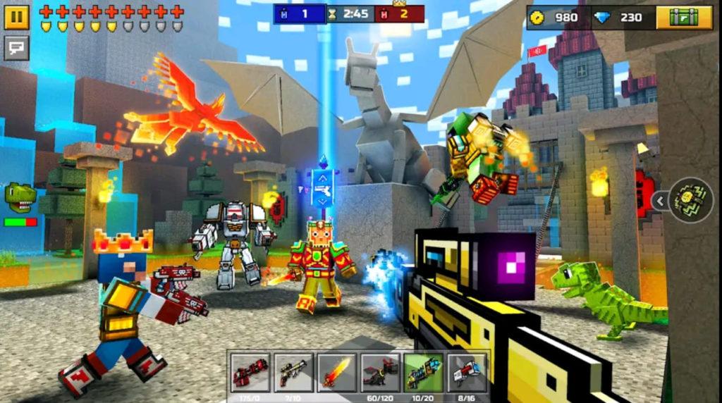 pixel gun 3d mod apk screen3
