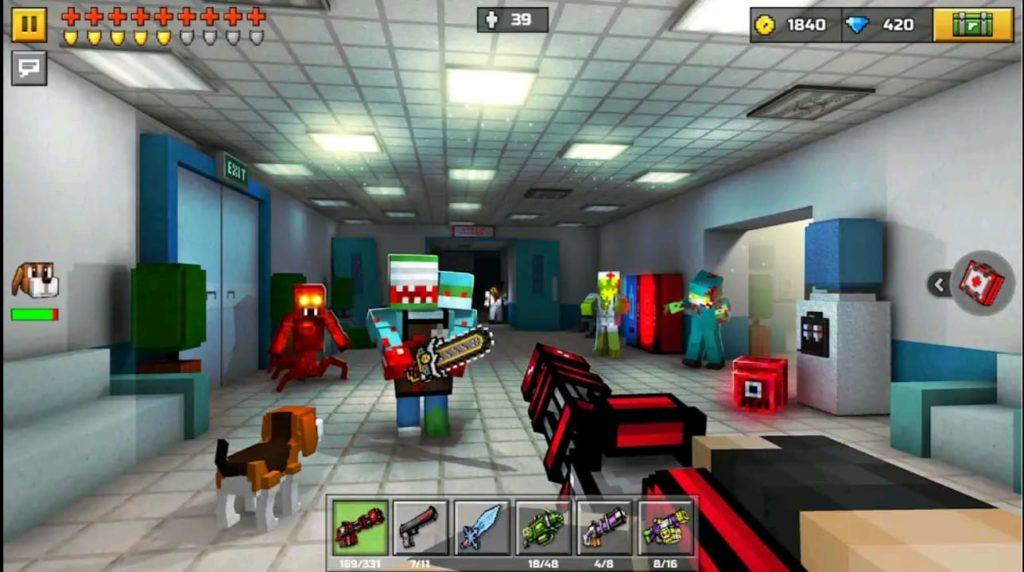 pixel gun 3d mod apk screen4