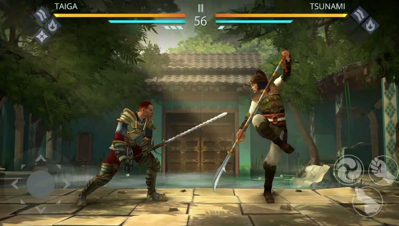 shadow fight 3 mod apk screen1