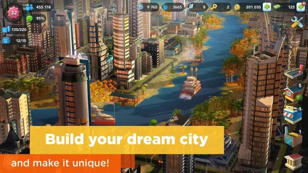 simcity mod apk screen1