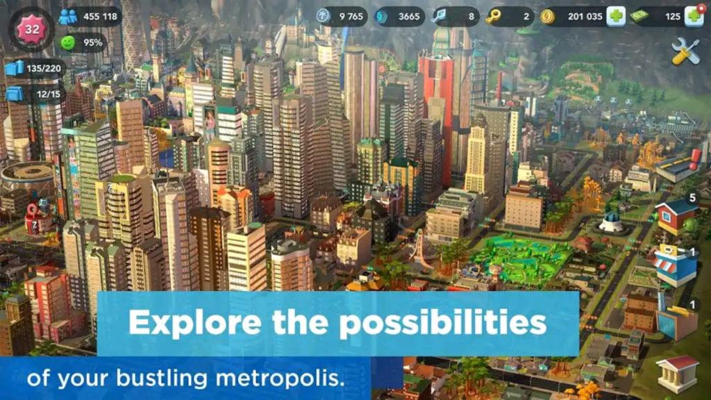 simcity mod apk screen5