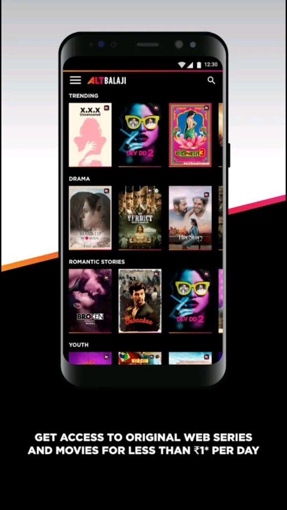 AltBalaji Mod Apk Screen2