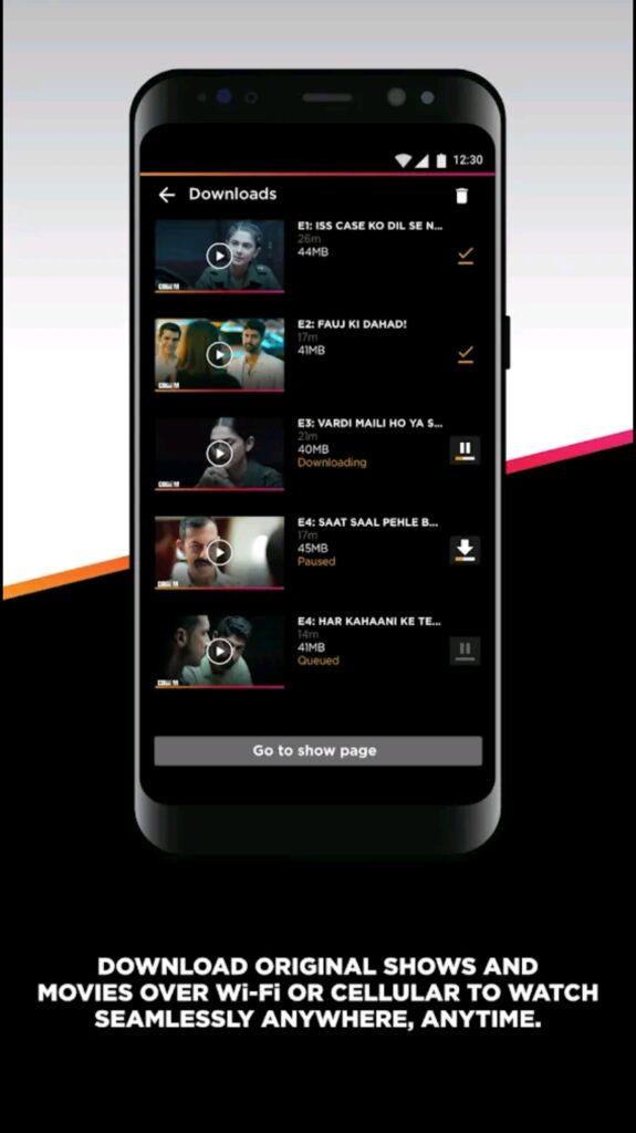 AltBalaji Mod Apk Screen3